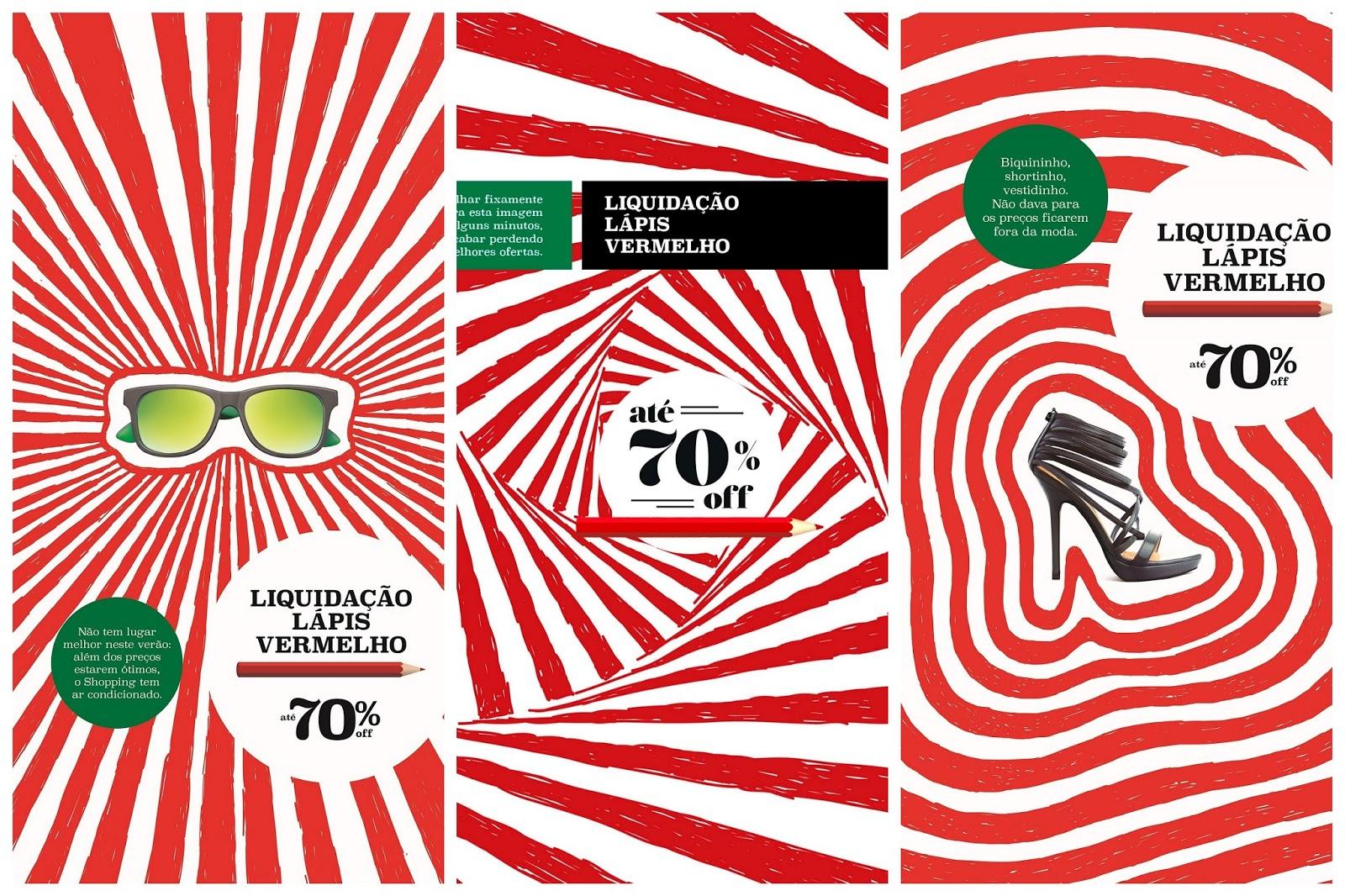ad3f8d001df Multiplan promove Liquidação do Lápis Vermelho com descontos de até ...