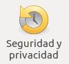 Icono Seguridad y privacidad