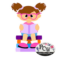 Girl Reading School Books SVG Cut File