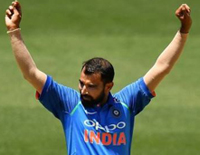 Mohammed Shami Becomes the Fastest Indian to Take 100 ODIs Wickets