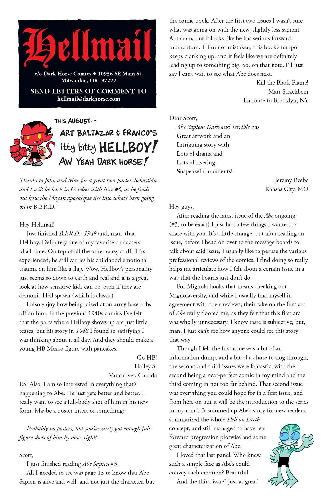 Read online Abe Sapien comic -  Issue #5 - 25