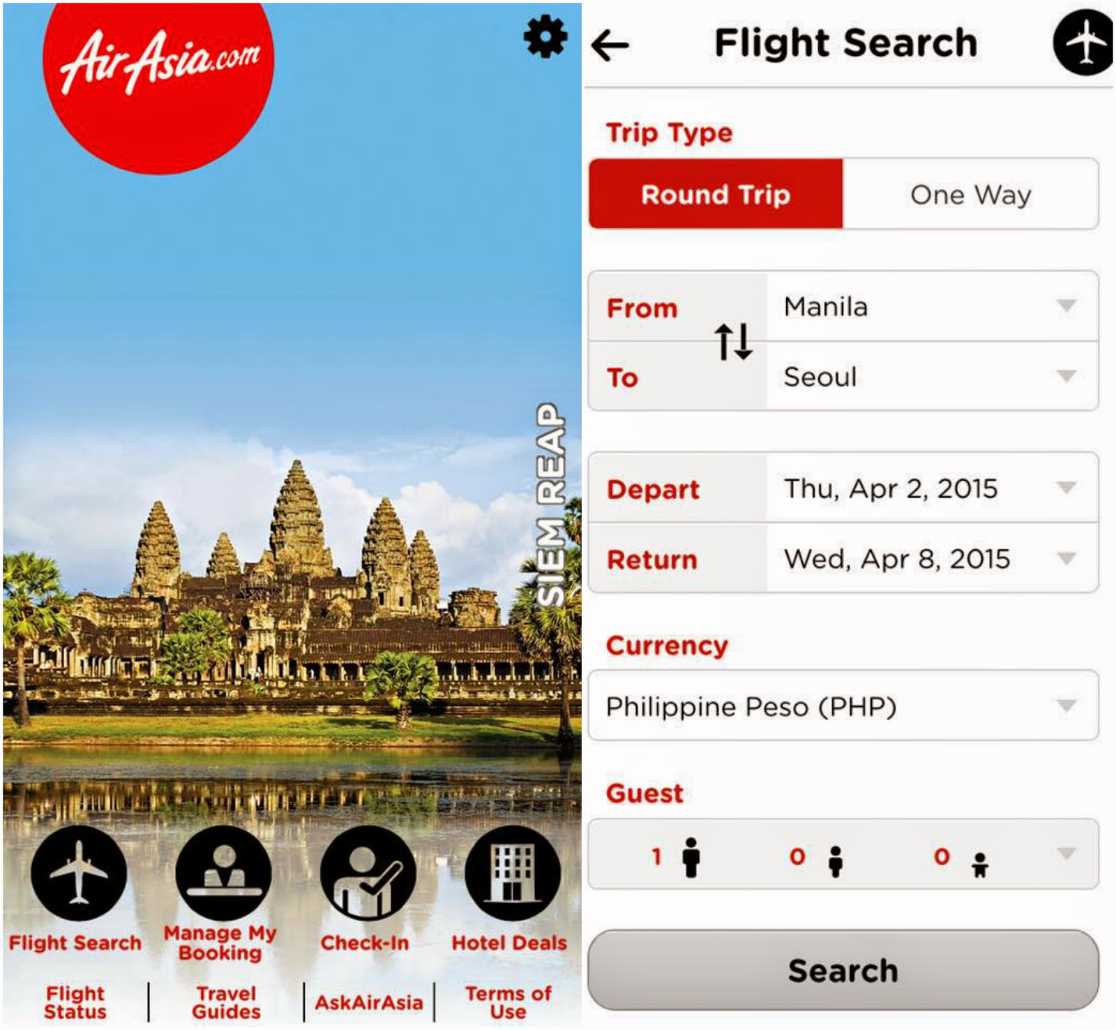 FTW! Blog, Flight Booking Apps, AirAsia