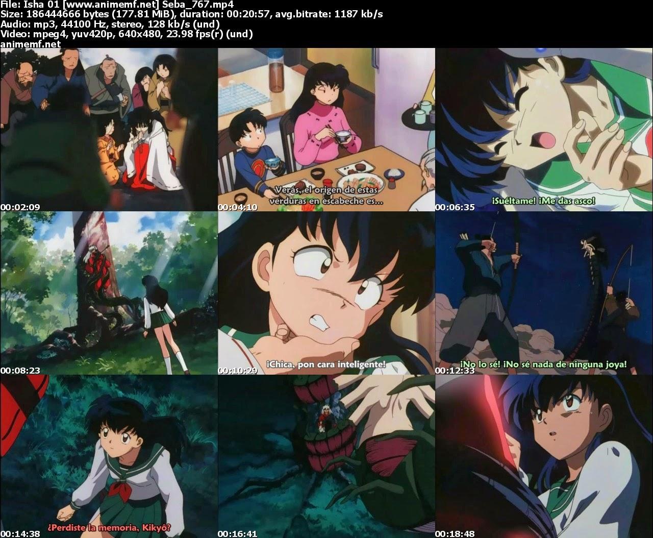Descargar Inuyasha 167/167 + Todas las Peliculas [Latino + Japones/Sub Español][MEGA]