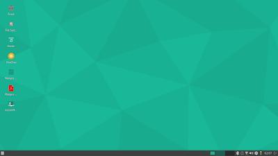 manjaro 16.10 desktop