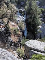 Upper Section of  HORSETAIL FALLS, ALPINE Utah Lone Peak Wilderness Area Dry Creek Canyon