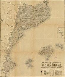 Diccionari català-valencià-balear, mapa