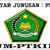 Daftar Jurusan Prodi UM-PTKIN UIN Alauddin Makassar