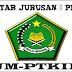 Daftar Jurusan UM-PTKIN UIN Alauddin Makassar