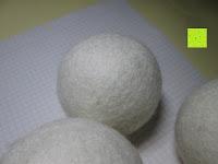 Farbe: Blissany Trocknerbälle - Der schonende Weichspüler aus 100% neuseeländischer Schafswolle