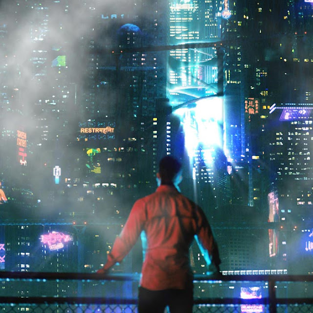 Altered Carbon Cyberpunk Wallpaper Engine