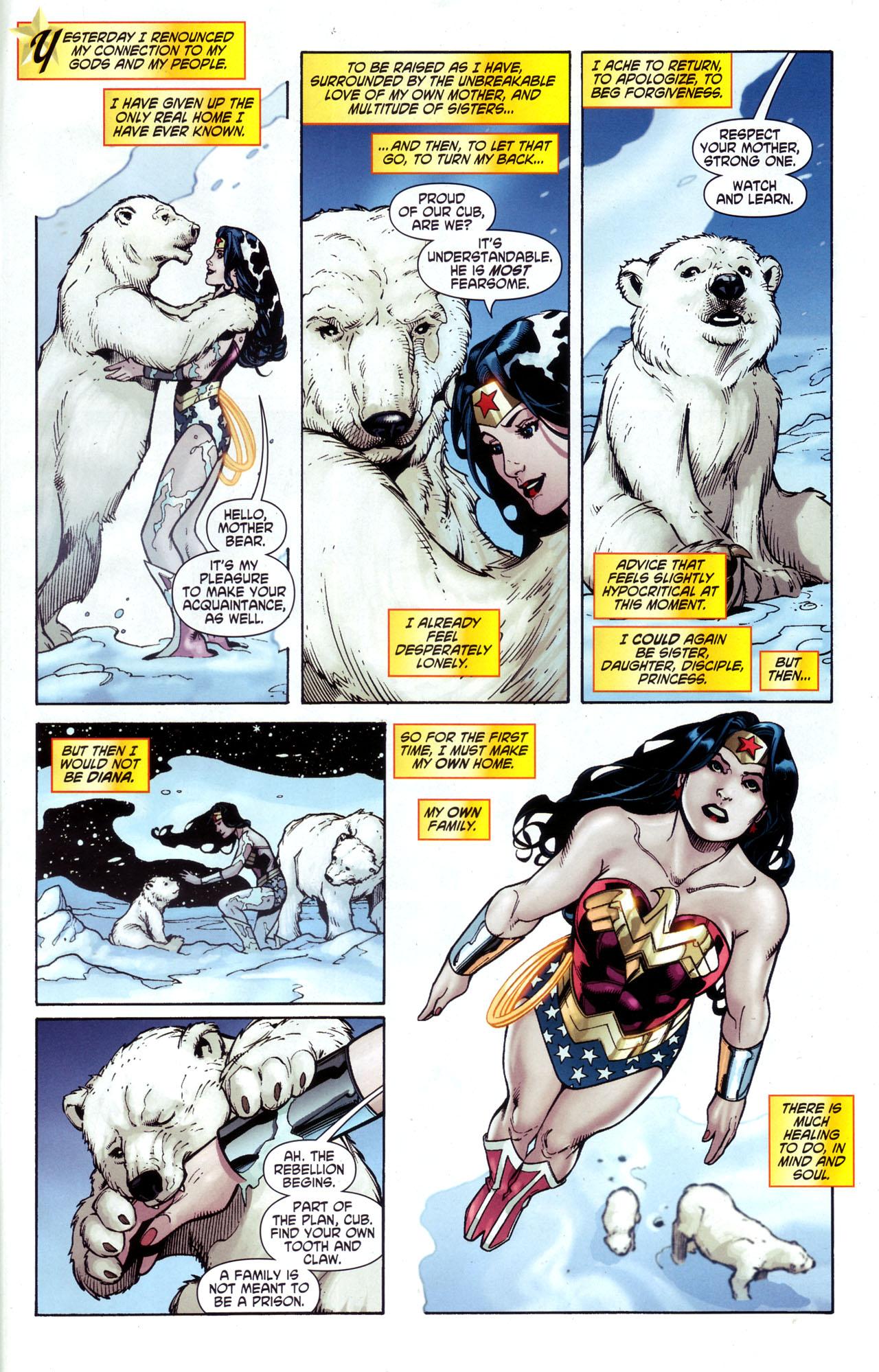 Read online Wonder Woman (2006) comic -  Issue #34 - 4