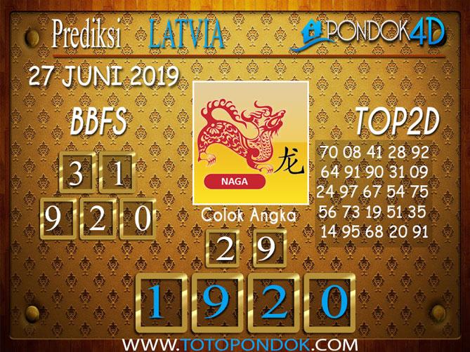 Prediksi Togel LATVIA PONDOK4D 27 JUNI 2019