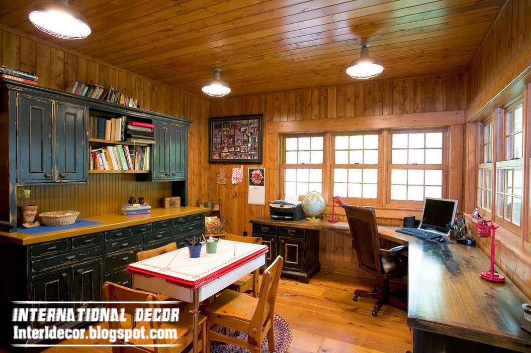 Old Farmhouse In The Woods With A Rustic Interior