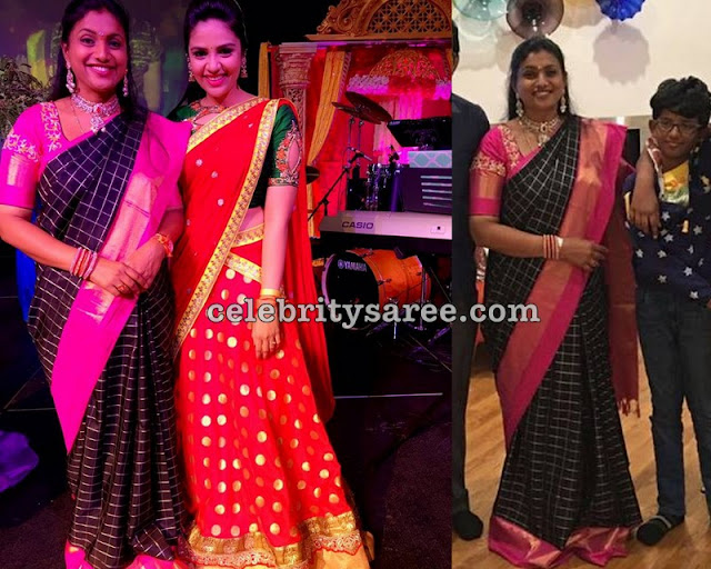 Roja and Srimukhi Sarees