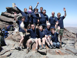 Charity Challenge on the Summit of Mulhacen, Sierra Nevada Spain