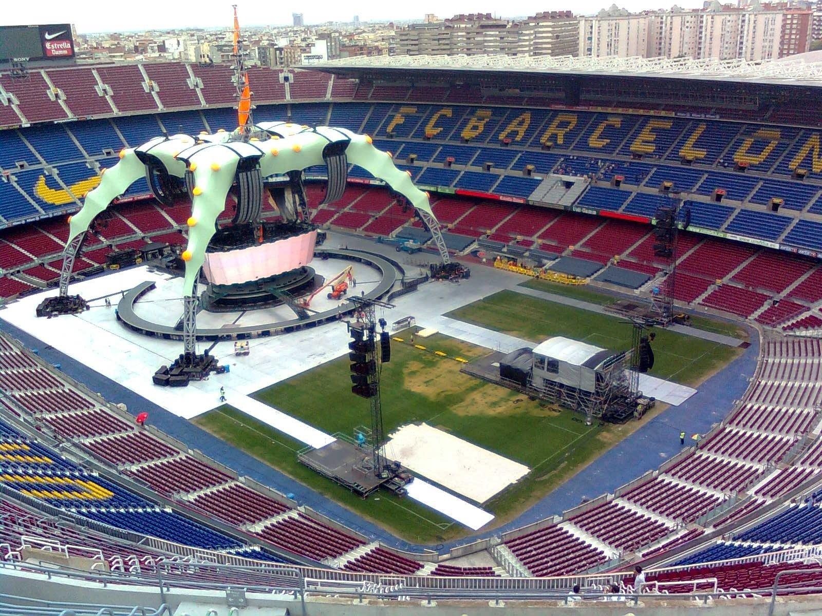 Camp Nou Barcelona Bacelona Fc Wallpaper