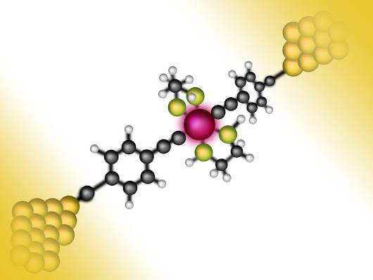 Single organic molecule can be altered in a targeted manner using a single electron