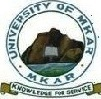 University of Mkar Postgraduate Admission Forms