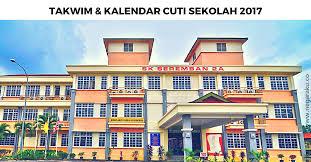 Senarai Tarikh Cuti Sekolah 2017 KPM Malaysia