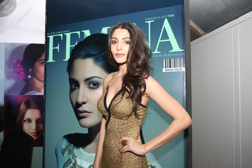Anushka Sharma At Femina's Most Beautiful Women In Yellow Top