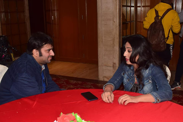 A rendezvous with actor Mahie Gill