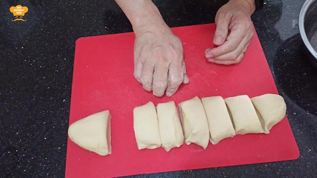 Roti Canai Home Made Recipe Portioning
