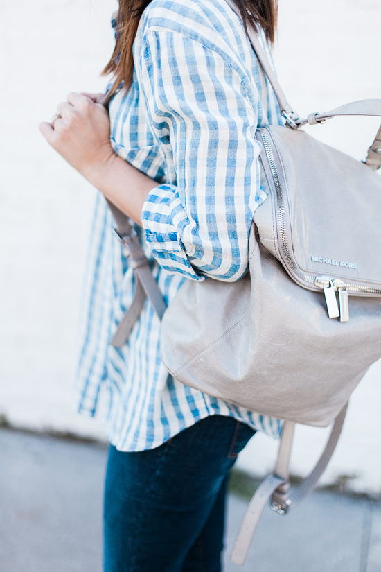 Here&Now: Michael Kors backpack