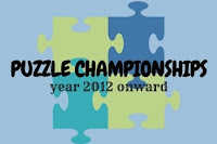 List of Puzzle Championship after year 2011