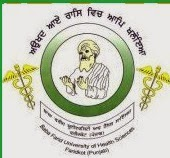 Baba Farid University of Health Sciences (BFUHS) Recruitment 2014 Teaching & Non- Teaching posts Govt. Job Alert.