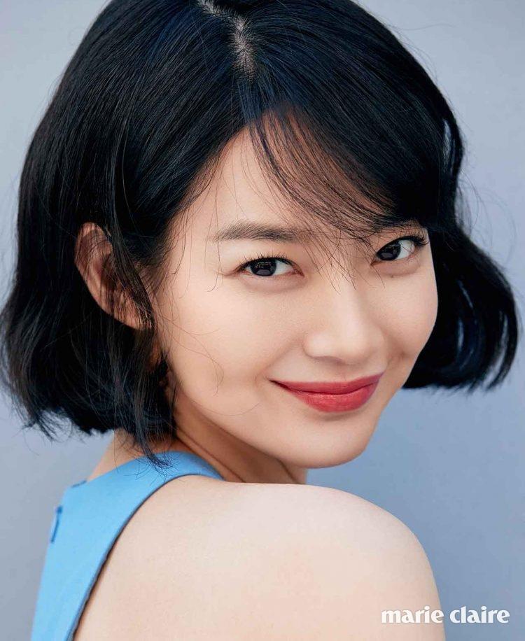 Shin Min Ah for Cosmopolitan and Allure - POPdramatic