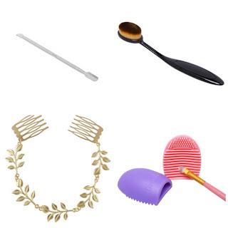 Akcesoria do włosów, makijażu i paznokci z Shein
