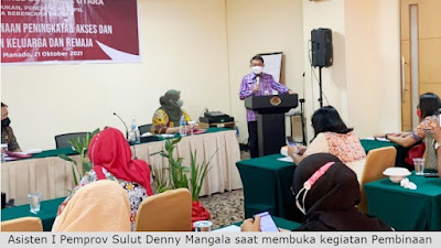 Pemprov Sulut Gelar Pembinaan Peningkatan Akses dan Kualitas Ketahanan Keluarga dan Remaja