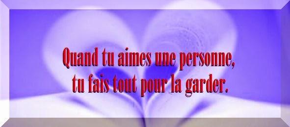 Phrase d'amour pour facebook