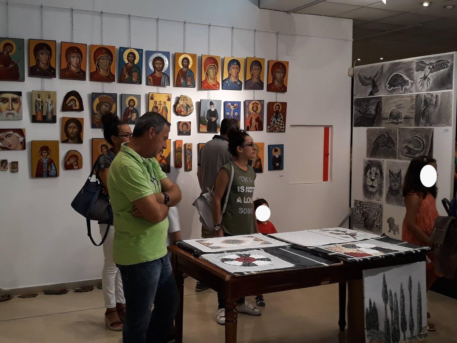 Ιωάννινα:Εγκαίνια της ετήσιας έκθεσης Εικαστικού Εργαστηρίου