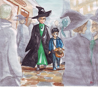 profesora mcgonagall harry potter