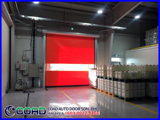 Automatic Door Malaysia, COAD Auto Door Malaysia, COAD Malaysia, High Speed Door, Industry Automatic Door Malaysia, Rapid Door Malaysia, Roll-up Door Malaysia, Sell Rapid Door,