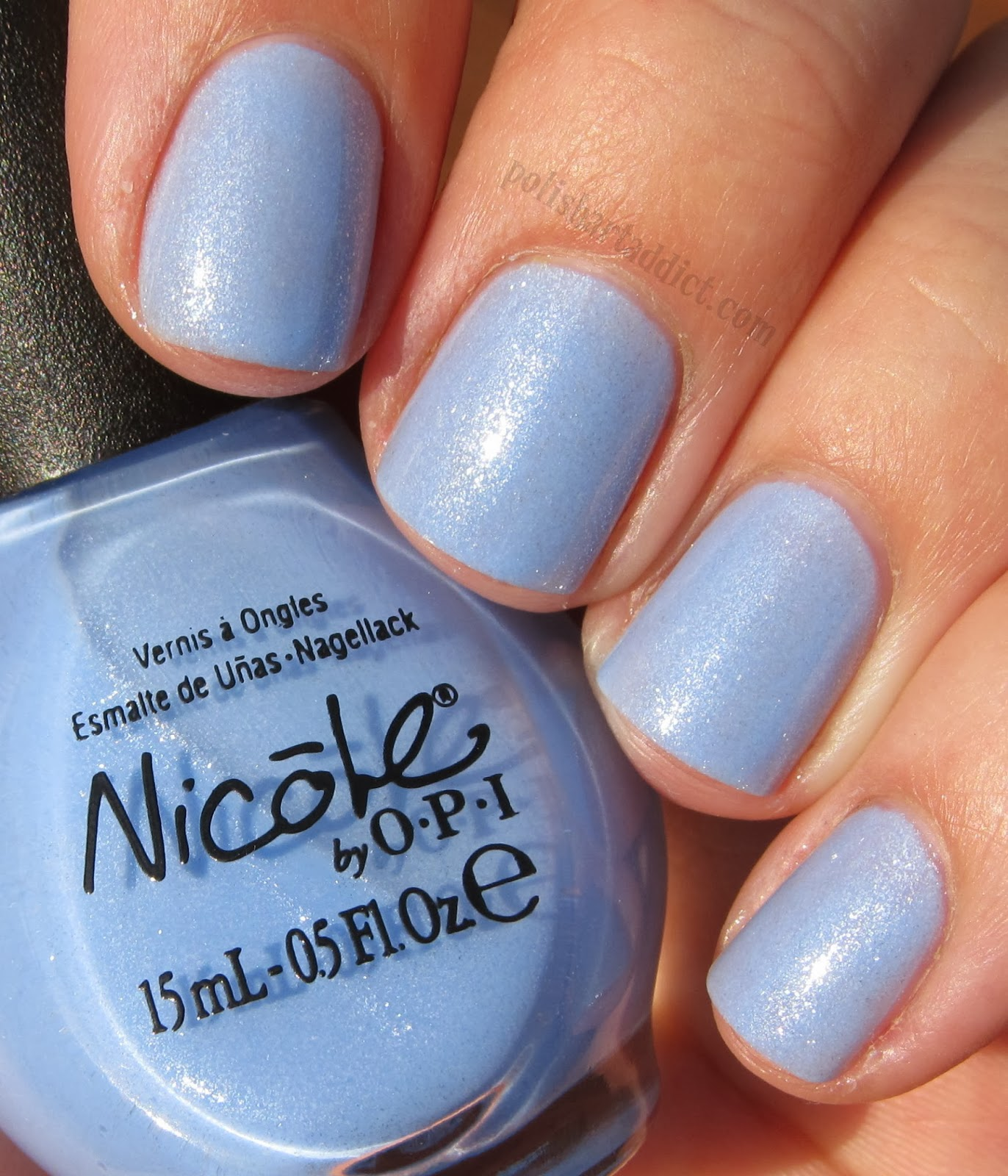 Nicole by OPI - Nothing Kim-pares To Blue