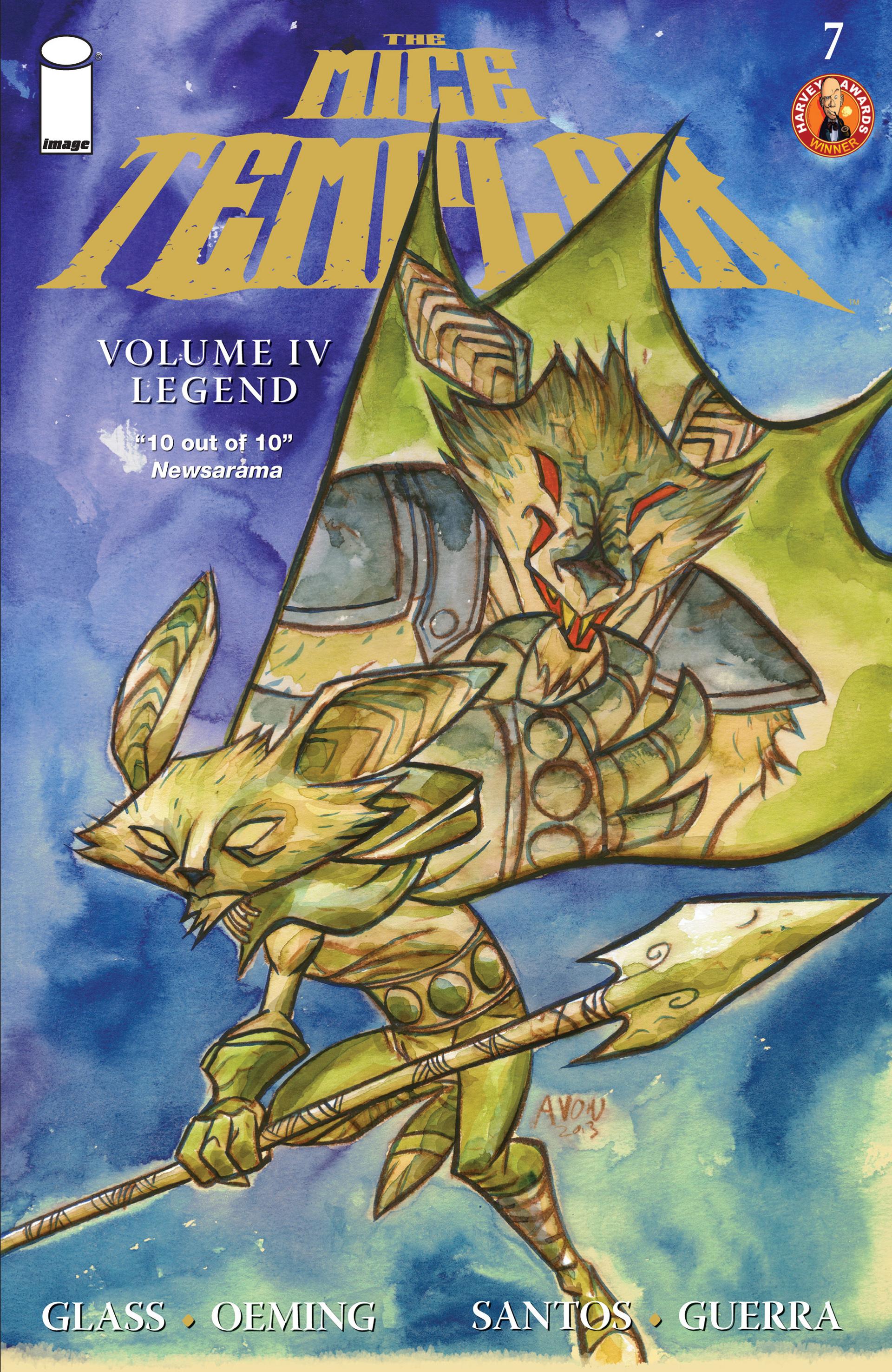 The Mice Templar Volume 4: Legend 7 Page 1