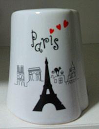 lembrancas de viagens saleiro Paris