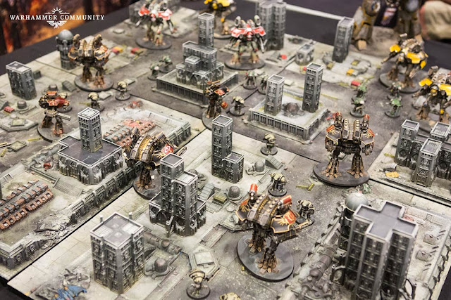 Games Workshop: New Adeptus Titanicus - The Horus Heresy Grand Master Starter Set Preview