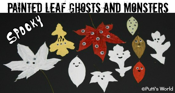Painted Leaf Monsters