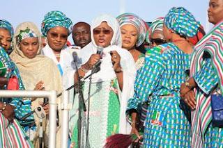 Labaran siyasa ::: Ana wata ga wata anshiga takun saka Tsakani Aisha Buhari da wani gwamna imo