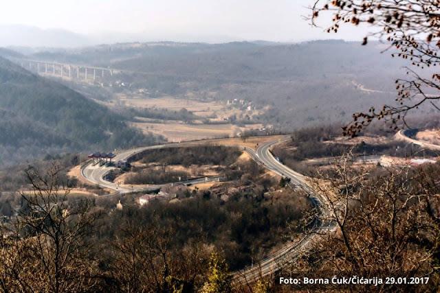 Panorama iz sela Mariškići