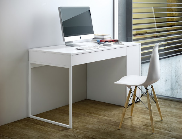 buy cheap white home office desk argos for sale
