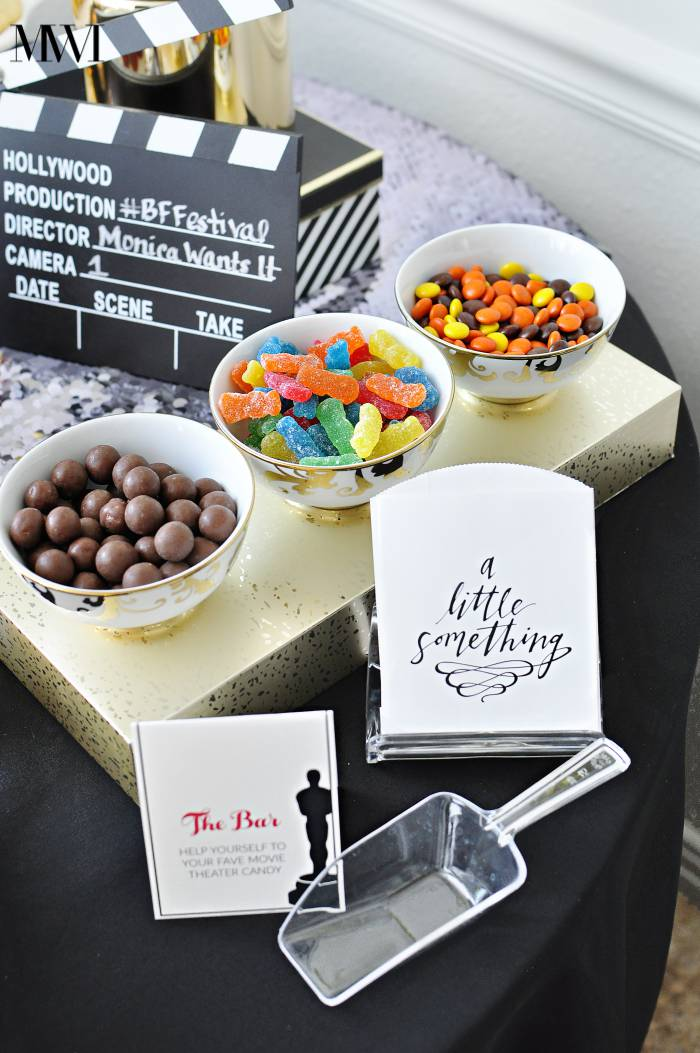 Academy Awards Oscars party ideas printable recipe