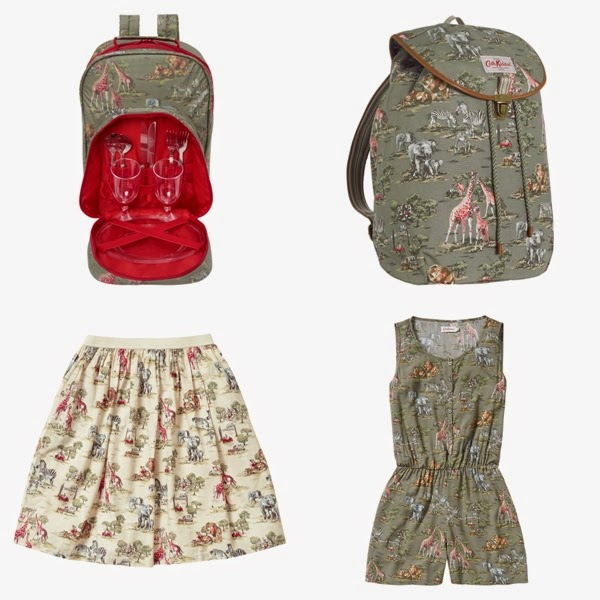 Cath Kidston Safari for Summer 2014, cath kidston safari, safari backpack, cath kidston bags, safari clothes, safari dress, safari skirts, safari bags, safari prints