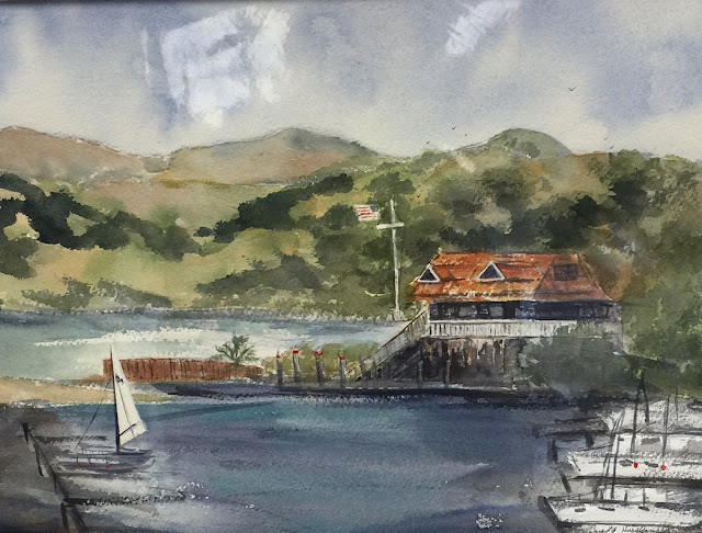 Harbor Master, Benicia by Carol Husslein concord art association