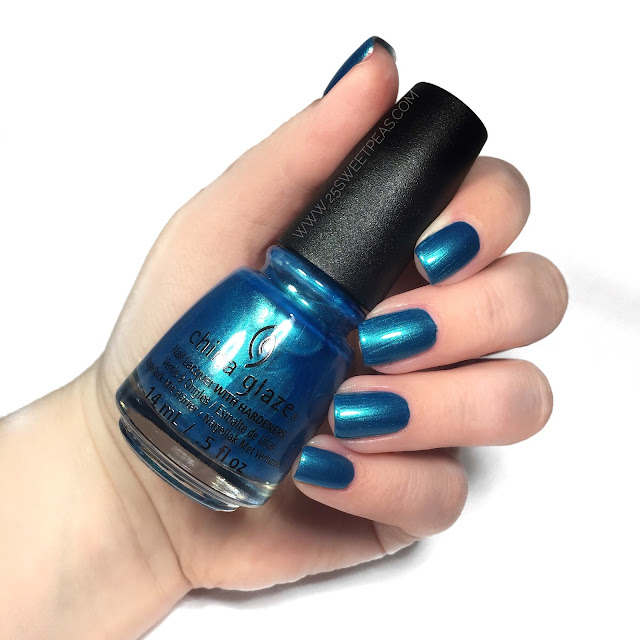China Glaze Mer-maid for Bluer Waters