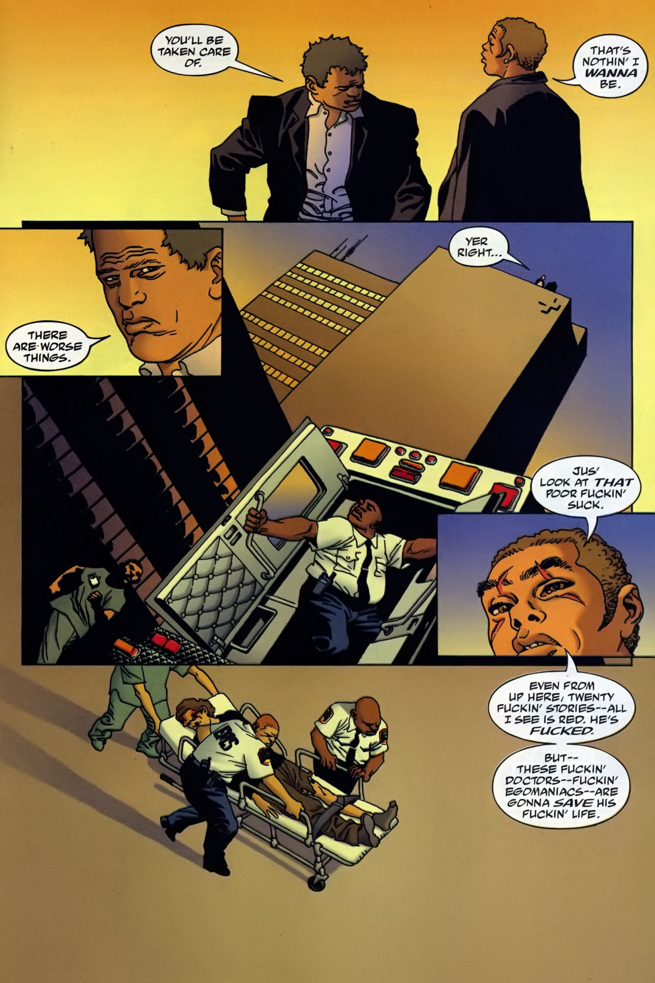 Read online 100 Bullets comic -  Issue #95 - 20