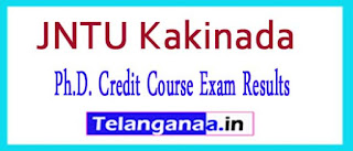 JNTUK Ph.D. Credit Course Exam Results 2017
